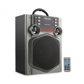 MIKADO MD-466 USB+SD+FM+BLUETOOTH MÜZİK KUTUSU 15W GRİ