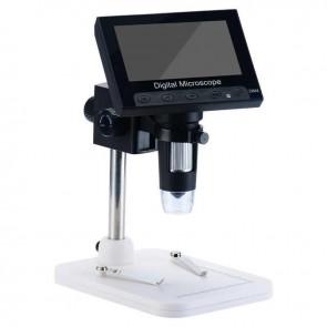 Mikroskop Digital DM-4 1000X 1080P 4.3* Lcd Ekran 8 Led Portatif