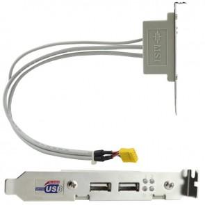 MSI 2 PORTLU USB BRAKET K10-3018002-E06