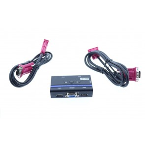 MT-VIKI 2 Port Kvm Switch Otomatik Klavye ile Geçiş 3x USB Girişli