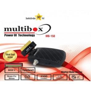 Multibox Mb-150 Scart Tipi Uydu Alıcısı Tkgs'Li