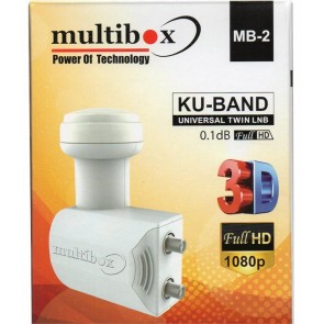 Multibox Mb-2 Twin Çiftli Lnb