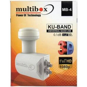 Multibox Mb-4 Quad 4 'Lü Lnb