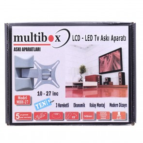 "Multibox Mbh-27 Lcd Led Tv Hareketli Askı Aparatı 10""-27"" İnc"