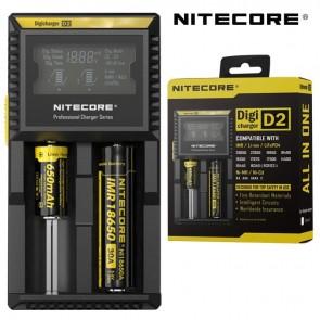 NiteCore Digi D2 LCD 18650 Pil Şarj Aleti / Nitecore Li-ion LiFe Ni