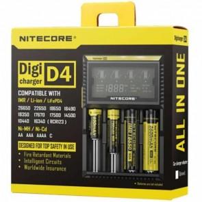 NiteCore Digi D4 LCD 18650 Pil Şarj Aleti / Nitecore Li-ion LiFe Ni