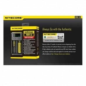 NiteCore New i2 / İ2 Li-ion NI-CD NI-MH 18650 Pil Şarj Aleti