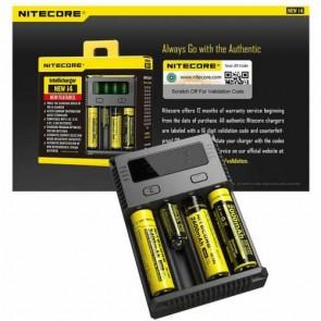 NiteCore New i4 / İ4 Li-ion 18650 Pil Şarj Aleti