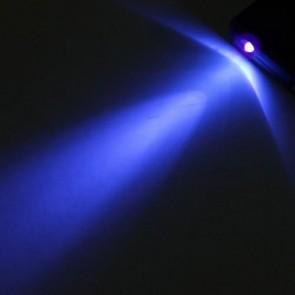 NO.9582 Mor Işıklı Sahte Para Kontrol Büyüteci (4.5x 5x Çift Mercekli)