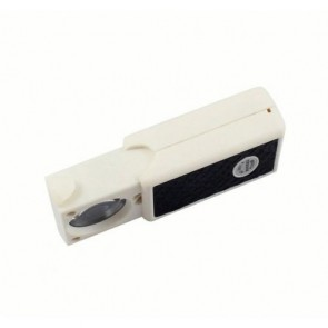 NO.9881A UV Mor Işıklı Büyüteç - Cep Sürgülü, 10x-21mm ,Para Kontrol