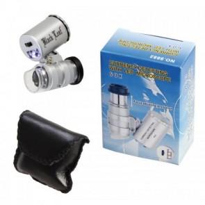 NO.9882 Kuyumcu, Antikacılar için 60x Büyütme Mini Mikroskop