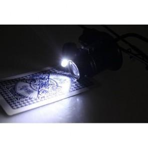 Gözlük Tip Işıklı Monoküler Büyüteç 20x16mm Optik Lens