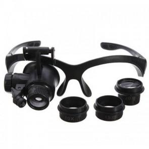 NO.9892F Saat Tamiri Kuyumcu için Çok Fonksiyonlu Gözlük Büyüteç