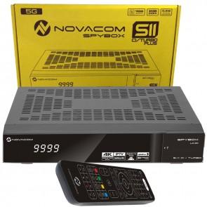 NOVACOM SPYBOX S11 CI/TURBO PLUS 4K ITV SET TOP BOX UYDU ALICISI