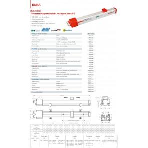 OPKON DMSS EtherCAT BUS Çıkışlı Temassız Pozisyon Sensörü 2500 mm