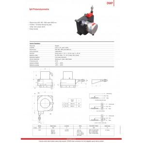 Opkon DWP İpli Potansiyometre Elektronik Çıkışlı 1000 mm