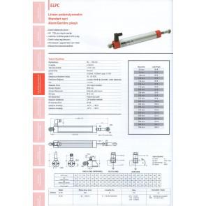 Opkon Lineer Potansiyometre ELPC Akım Gerilim Çıkışlı 50-700mm