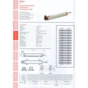 Opkon Lineer Potansiyometre ELPT Akım Gerilim Çıkışlı 30-1250mm