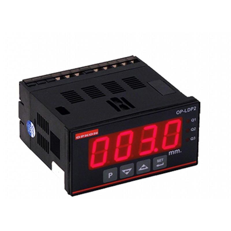 Opkon OP-LDP2 Voltaj Akım Pozisyon Ölçme ve Kontrol Cihazı
