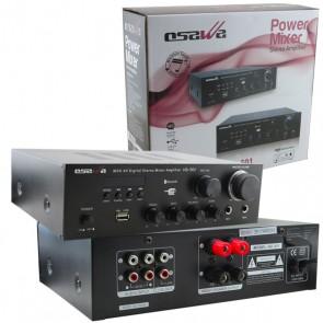 OSAWA HD-501 MİNİ-40 WATT USB*BT-TRAFOSUZ ANFİ (BAS*TİS*BALANS)