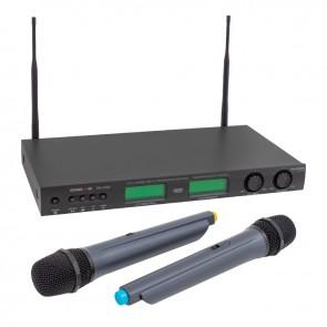OSAWA PM-U888 2X16 KANAL UHF KABLOSUZ 2 EL MİKROFON SİSTEMİ