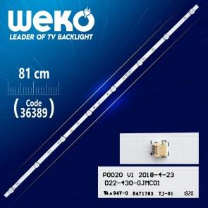 P0020 V1 D22-430-GJMC01  8 LEDLİ  81 CM