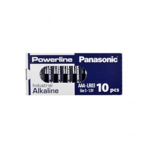 Panasonic - Powerline-LR03AD/10BB - AAA - Alkaline Pil  - 10lu Kutu