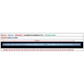 PHILIPS 40PFK4509 GJ-DLEDII P5-400D409-V7-V4 TPT400LA-J6PE1 Tv Led