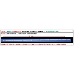 PHILIPS 43PUS6031/12 VESTEL 43'' DRT UHD A-TYPE REV0.3 VES430QNDL-2D-U
