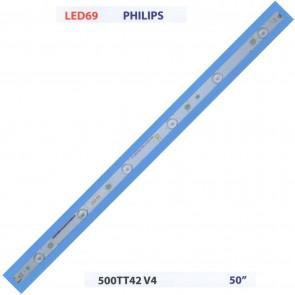 """PHILIPS 500TT42 V4 50"""" Tv Led Bar"""