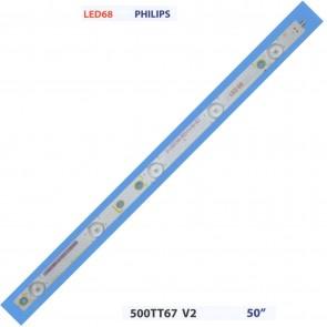 """PHILIPS 500TT67 V2 50"""" Tv Led Bar"""