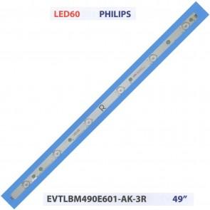 """PHILIPS EVTLBM490E601-AK-3R 49"""" Tv Led Bar"""