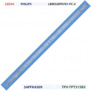 PHILIPS LBM320P0701-FC-2 34PFK4309 TPV-TPT315B5 Tv Led Bar