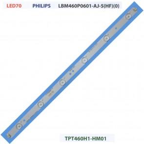 PHILIPS LBM460P0601-AJ-5(HF)(0) TPT460H1-HM01 Tv Led Bar