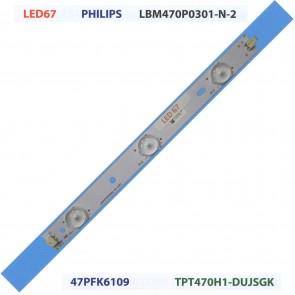 PHILIPS LBM470P0301-N-2 47PFK6109 TPT470H1-DUJSGK Tv Led Bar