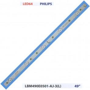 """PHILIPS LBM490E0501-AJ-3(L) 49"""" Tv Led Bar"""