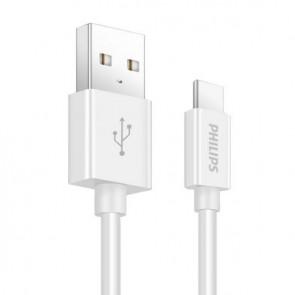 PHILIPS SWR1601/93 1 METRE 3A USB TYPE-C ŞARJ+DATA KABLOSU