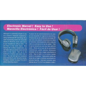 Porta Sound 2000 Kablosuz Kulaklık Ses Dinleme Cihazı