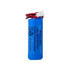 Power-Xtra 1S1P - 3.6V ER17505 A Size Li-SOCI2 Lithium Pil - Soketli