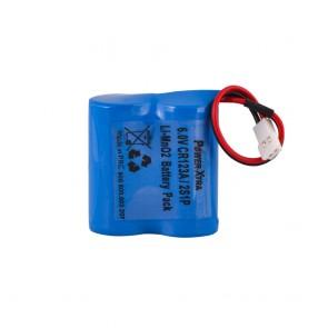 Power-Xtra 2S1P 6.0V CR 123A Li-SOCI2 Lithium Batarya(Soketli)