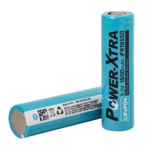 Power-Xtra IFR18650 - 3.2V 1500 Mah LiFePO4 Şarjlı Pil