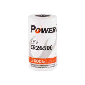 Power-Xtra 3.6V ER26500 C Size Li-SOCI2 Lithium Pil