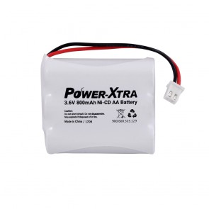 Power-Xtra 3S1P 3.6V Ni-Cd AA 800 Mah Şarjlı Pil BRK2 (Soketli)