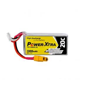 Power-Xtra PX1300XL3S - 3S1P - 11.1V 1300 mAh Li-Polymer Pil -20C