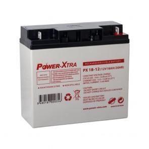 Power-Xtra PX18-12 - 12V 18 Ah Bakımsız Kuru Akü