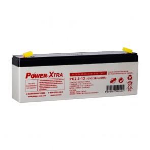 Power-Xtra PX2.3-12 - 12V 2.3 Ah Bakımsız Kuru Akü