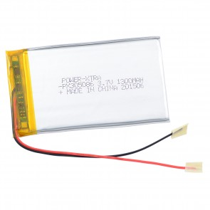 Power-Xtra PX305086 1300 mAh Li-Polymer Pil