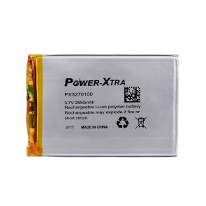Power-Xtra PX3270100 2650 mAh Li-Polymer Pil
