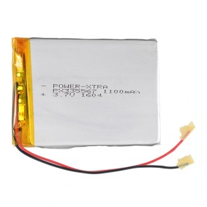 Power-Xtra PX335567 1100mAh  Li-Polymer Pil