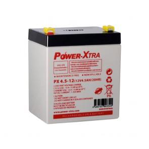 Power-Xtra PX4.5-12 / 12V 4.5 Ah Bakımsız Kuru Akü